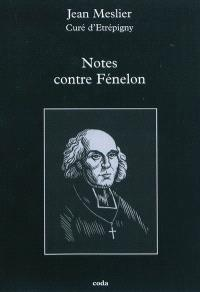 Notes contre Fénelon