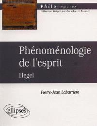 Phénoménologie de l'esprit, Hegel