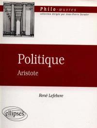 Politique, Aristote