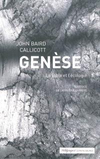 Genèse : la Bible et l'écologie