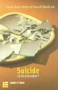 Suicide : la fin d'un tabou