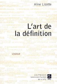L'art de la définition