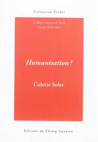 Humanisation ? : cours 2013-2014