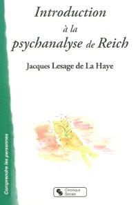 Introduction à la psychanalyse de Reich