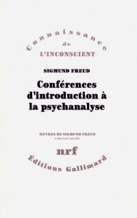 Conférences d'introduction à la psychanalyse