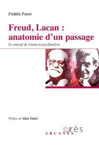 Freud, Lacan : anatomie d'un passage : le concept de réseau en psychanalyse