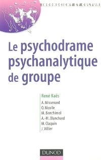 Le psychodrame psychanalytique de groupe