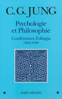 Psychologie et philosophie : conférences de Zofingia : 1896-1899
