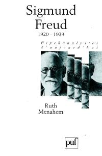 Sigmund Freud. Volume 4, 1920-1939