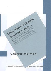 D'un autre à l'autre, deuxième tour... : sur le séminaire 1968-1969 de Jacques Lacan : séminaire d'hiver des 27 et 28 janvier 2007, amphithéâtre Charcot de l'hôpital de la Salpêtrière, Paris