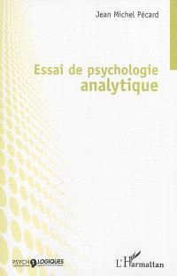 Essai de psychologie analytique