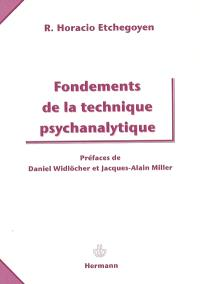 Fondements de la technique psychanalytique