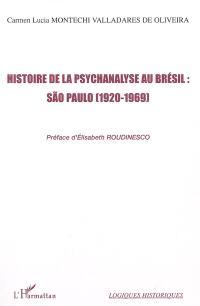 Histoire de la psychanalyse au Brésil : Sao Paulo : 1920-1969