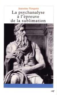 La psychanalyse à l'épreuve de la sublimation