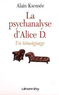 La psychanalyse d'Alice : derrière la porte du psy