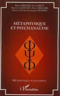 Métaphysique et psychanalyse