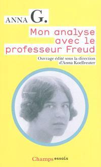 Mon analyse avec le professeur Freud
