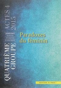 Paradoxes du féminin