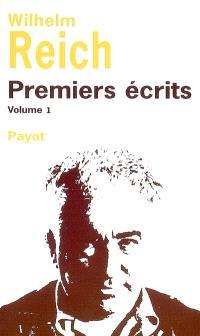 Premiers écrits. Volume 1