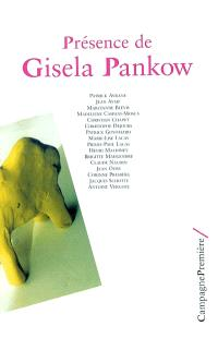 Présence de Gisela Pankow : journée d'études, Paris, 30 nov. 2003