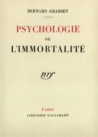 Psychologie de l'immortalité