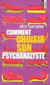 Comment choisir son psychanalyste