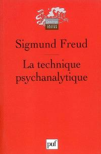 La technique psychanalytique