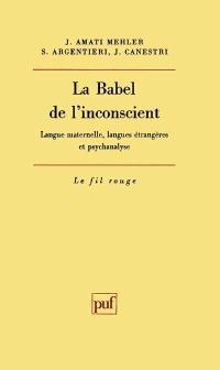 Le Babel de l'inconscient : langue maternelle, langues étrangères et psychanalyse