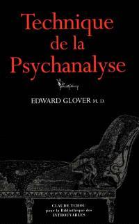 Technique de la Psychanalyse