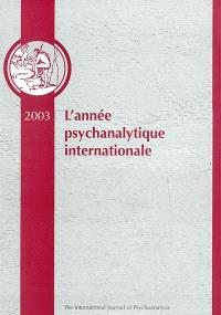 Année psychanalytique internationale (L'). n° 1