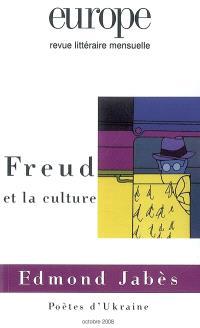 Europe. n° 954, Freud et la culture