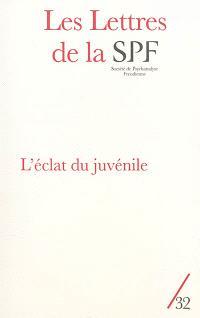 Lettres de la Société de psychanalyse freudienne (Les). n° 32, L'éclat du juvénile
