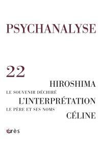 Psychanalyse. n° 22