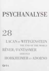 Psychanalyse. n° 28