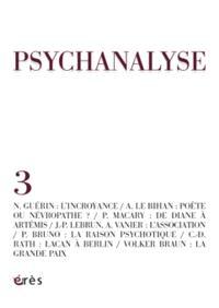 Psychanalyse. n° 3