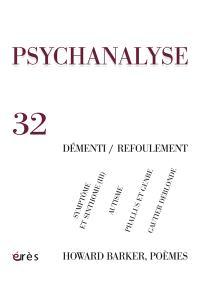 Psychanalyse. n° 32