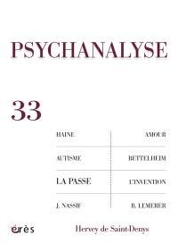 Psychanalyse. n° 33