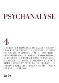 Psychanalyse. n° 4