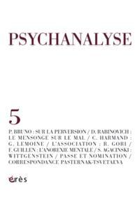 Psychanalyse. n° 5