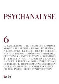 Psychanalyse. n° 6