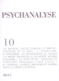 Psychanalyse. n° 10