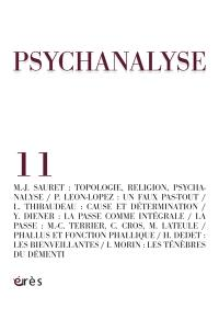 Psychanalyse. n° 11