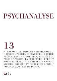 Psychanalyse. n° 13