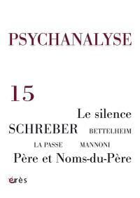 Psychanalyse. n° 15
