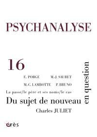 Psychanalyse. n° 16