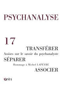 Psychanalyse. n° 17