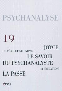 Psychanalyse. n° 19