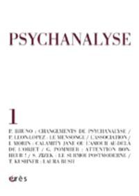 Psychanalyse. n° 1, Changement de psychanalyse