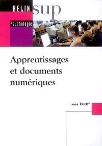 Apprentissages et documents numériques