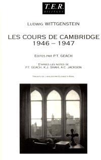 Cours sur la philosophie de la psychologie : Cambridge 1946-1947
